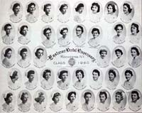 School for Dental Hygienists, Class of 1960