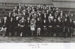 School for Dental Hygienists Class of 1933