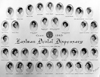 School for Dental Hygienists Class of 1963