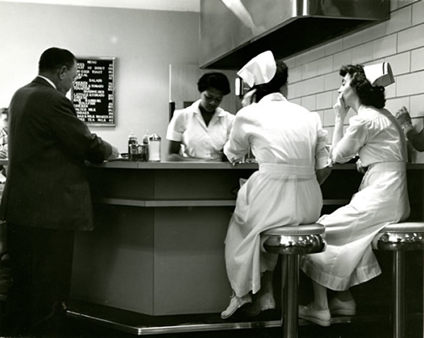 Coffee shop 1954