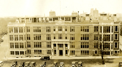 New England Deaconess Hospital in 1931