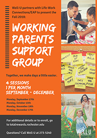 Working Parents Support Group Flyer