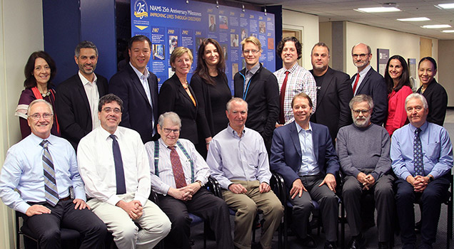 Attendees of the NIAMS roundtable discussion on psoriatic  arthritis