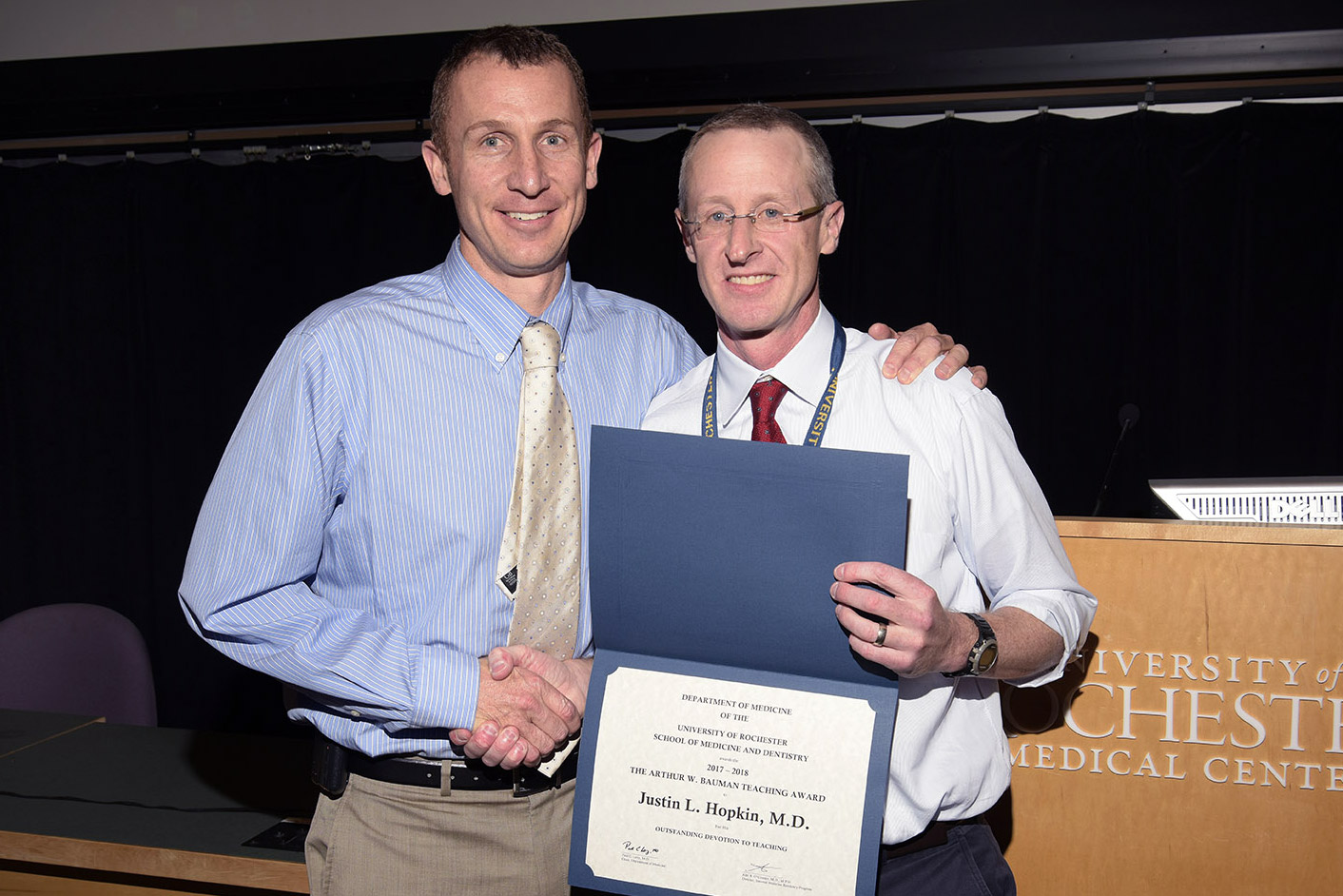 Justin Hopkin, MD and Alec O'Connor, MD, MPH