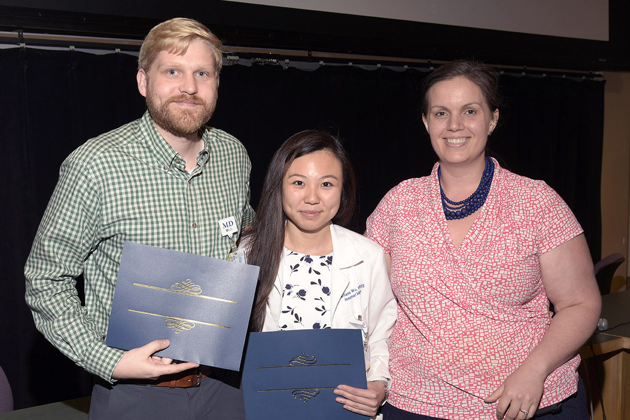 Luke Eastburg, MD, Julianna Wu, MD and Jennifer Muniak, MD