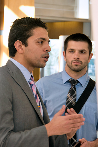 Pictured (L-R): Ayman Elbadawi, MD and Matthew Gorgone, DO