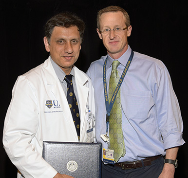 Bilal Ahmed, MD and Alec O'Connor, MD