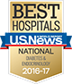 Best National Hospitals, U.S. News & World Report: Diabetes & Endocrinology 2016-17