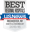 Best Regional Hospitals, U.S. News & World Report: Diabetes & Endocrinology 2015-16