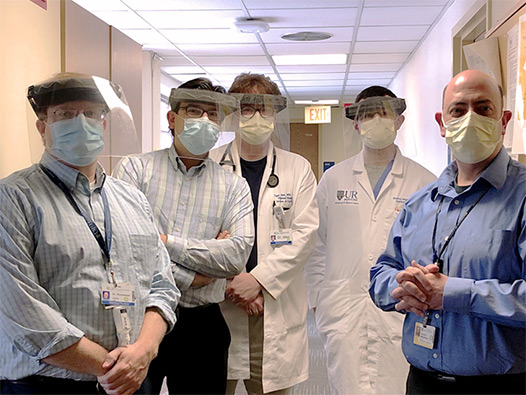 Medical staff, masks