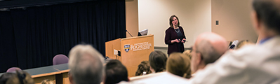 Dr. Valerie Lang presents at Grand Rounds