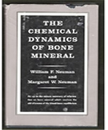 Photo of book cover: The Chemical Dynamics of Bone Mineral