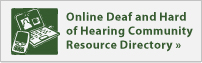 Deaf and hard of hearing directory