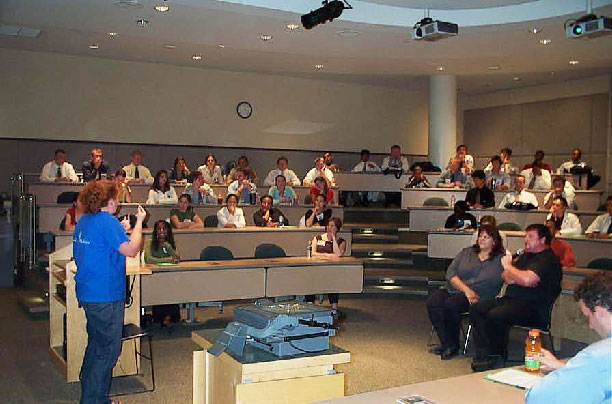 2007 DSH - photo of lecture