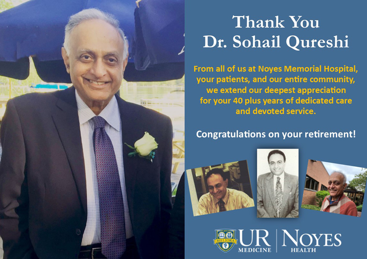 Congratulations Dr. Qureshi