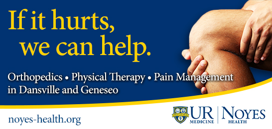 If it hurts, we can help; Orthopedics-Physical Therapy-Pain Management in Dansville and Geneseo