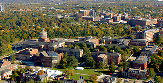 University of Rochester Aerial View