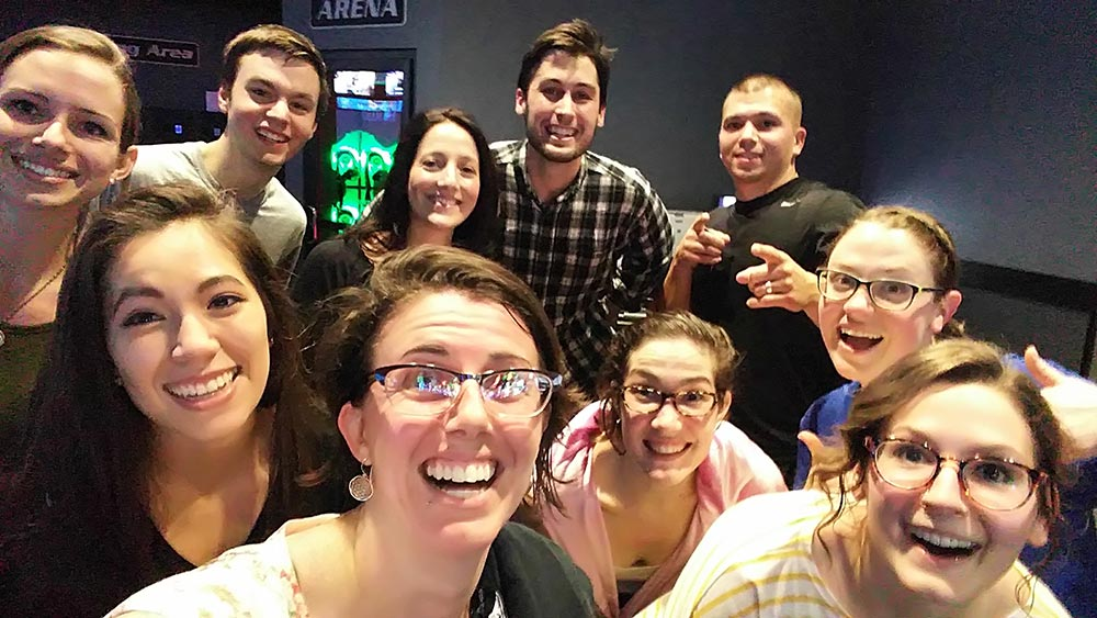 Team building: Celebrating the Holidays at Lasertron – December 2015