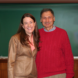 Dana Work and Dr. George Schwartz