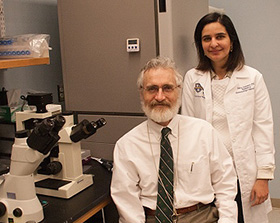 Dr. Mullen with fellow