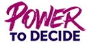Power to Decide Logo