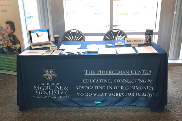 Hoekelman Center table photo
