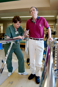 Physical Therapy after stroke can help you walk again.