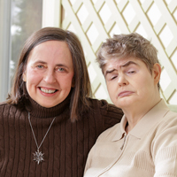 Maureen O'Brien Chepiga and Margaret O'Brien