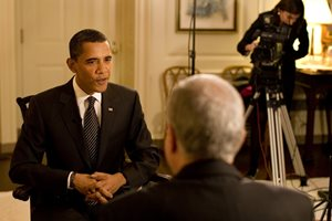 Pre-production Obama interview