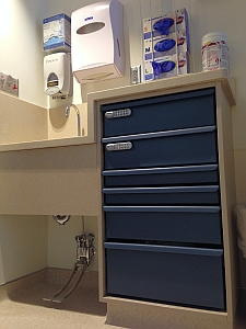 In-room Supply and Pharmaceutical Storage