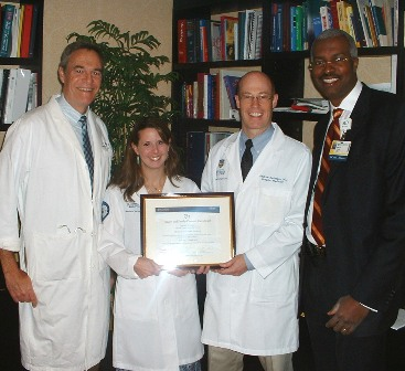 Hospitalists Honored