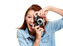 Woman Snapping Photo