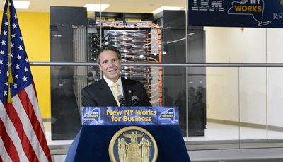 Governor Cuomo speaks at BGQ