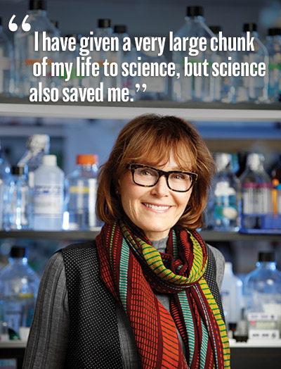 Maquat quote: I have given a very large chunk of my life to science