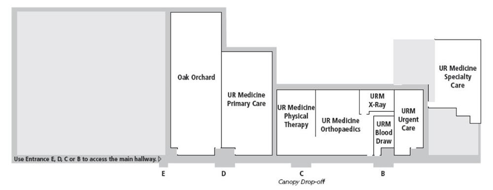 Medical Office Building floor plan