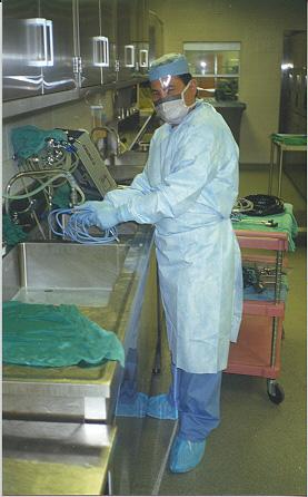 Photo Tour Sterile Amp Materials Processing Department