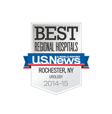 Best Regional Hospitals, U.S. News & World Report: Urology 2014-15