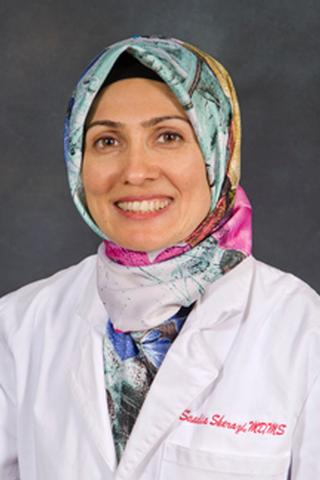 Saadie Sherazi, MD