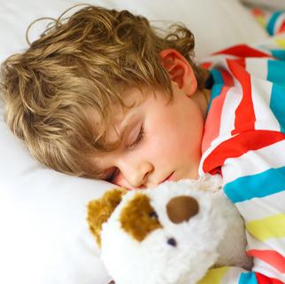 A child sleeping.