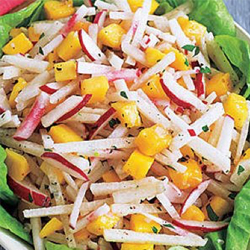 Jicama, Radish and Mango Salad