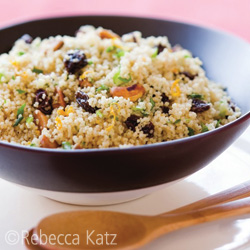 Orange Pistachio Couscous