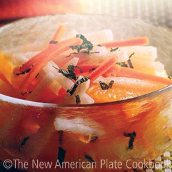 Jicama and Orange Salad with Mint