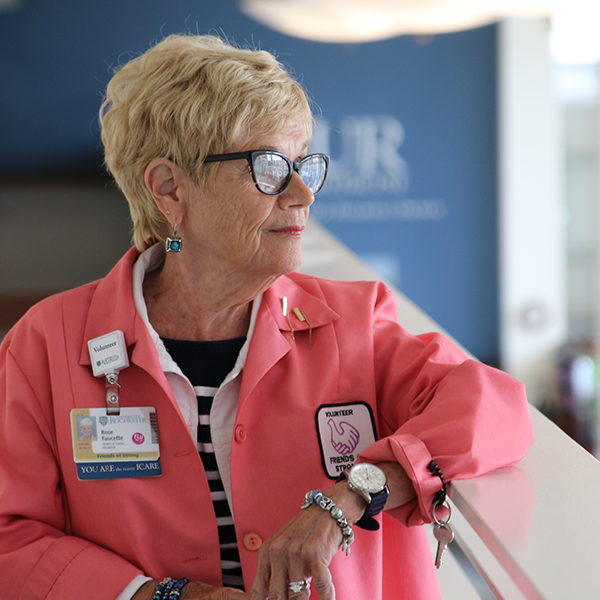 Leading by Example: Consummate Volunteer Rose Faucette Receives Health Care Heroes Award