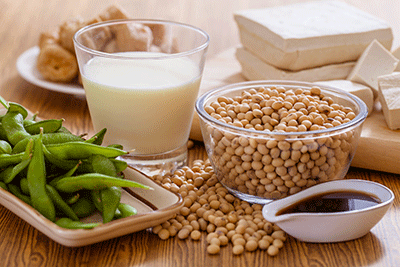 I include tofu and tempeh in my diet. Is soy good for my health, and can its estrogen-like properties help or harm me?