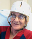 Helmets Protect Patients from Falls