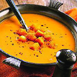 Sweet Potato, Parsnip and Red Lentil Soup