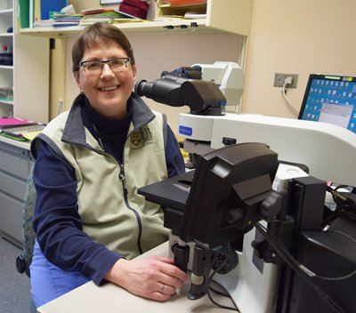 Four Decades Behind the 'Scope: Q&A with Cytotechnologist Mary Ann Rutkowski