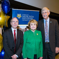 NIH Director Praises CTSI and Translational Research During Meliora Weekend Visit