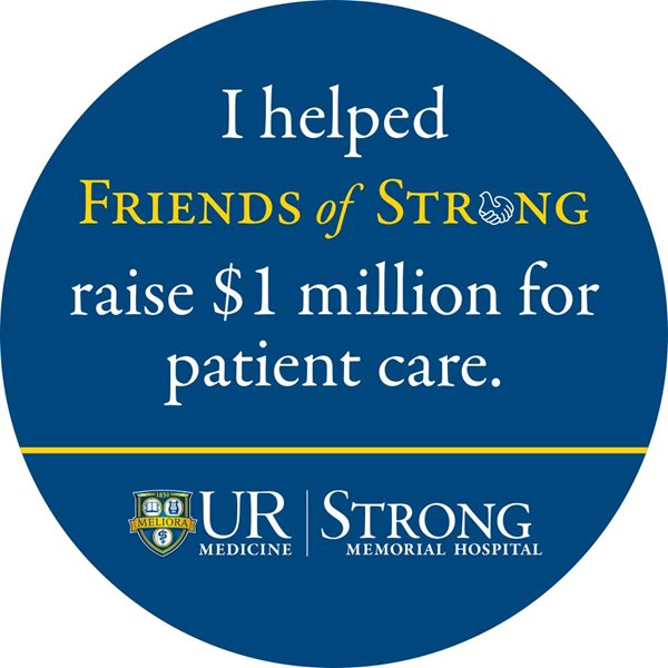Slice of History: Friends of Strong Celebrates $1 Million Milestone, Efforts to Enhance Patient Care