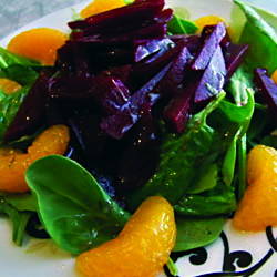 Beet And Orange Salad With Citrus Vinaigrette